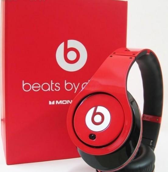 2012 Monster Beats By Dr Dre Studio Headphones w