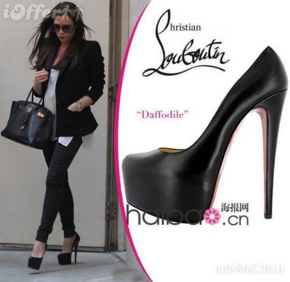 ch ris0tian Louboutin 16CM High Heel Sheepskin Shoes 88