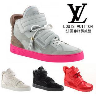 NEW Men Louis Vuitton LV Kanye West Sneaker Shoes c