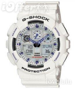 CASIO G-SHOCK watches GA-100-1A1D sports watch ft