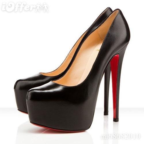 ch ris0tian Louboutin 16CM High Heel Sheepskin Shoes`