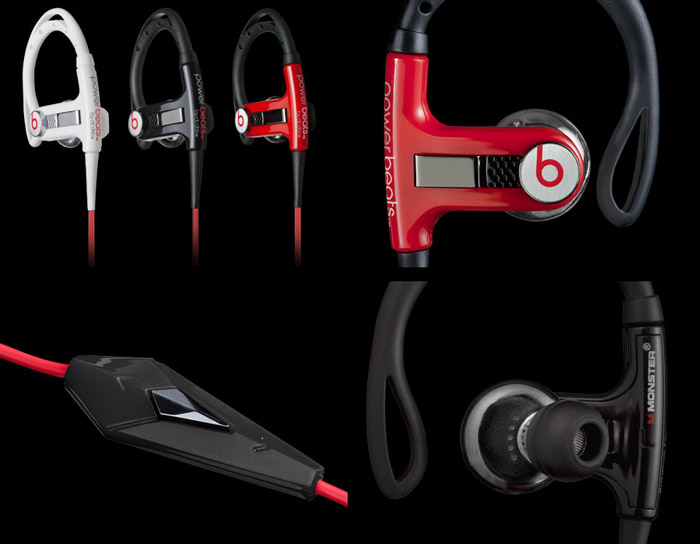 ?Power Beats Sport Headphones From Monster Contrrol A