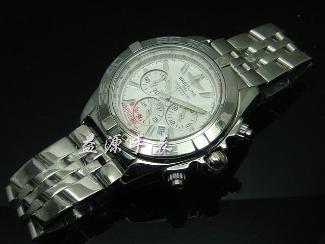 Breitling Watch  00486 Men's All-steel Wristwatches