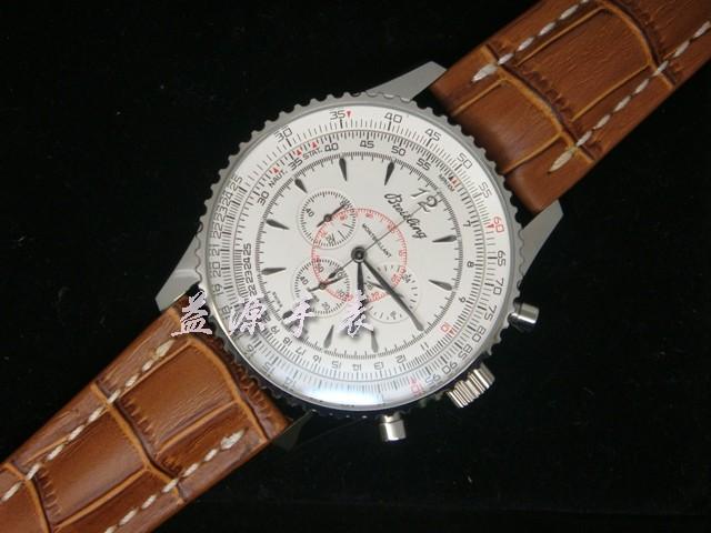 Breitling Watch  00490 Men's All-steel Wristwatches