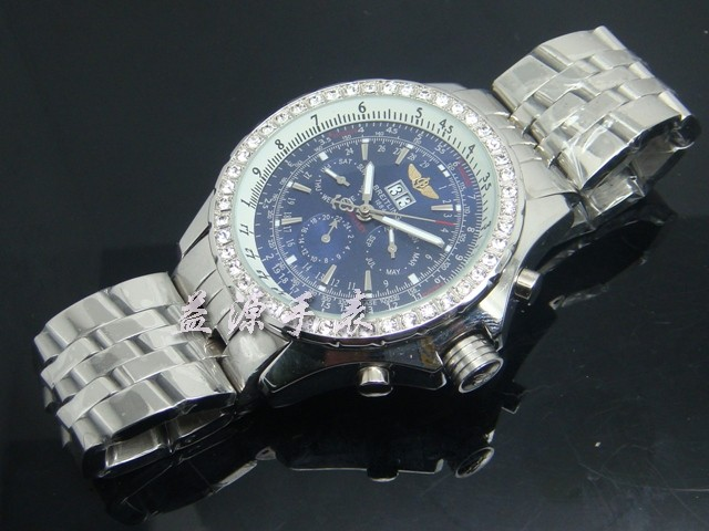Breitling Watch  00508 Men's All-steel Wristwatches