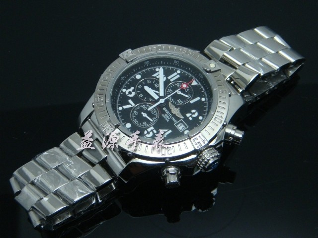 Breitling Watch  00510 Men's All-steel Wristwatches