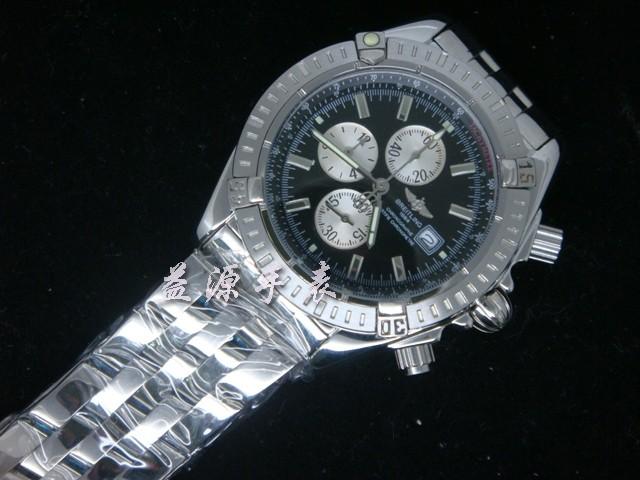 Breitling Watch  00520 Men's All-steel Wristwatches