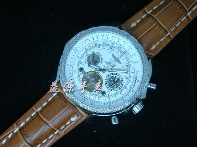 Breitling Watch  00536 Men's All-steel Wristwatches