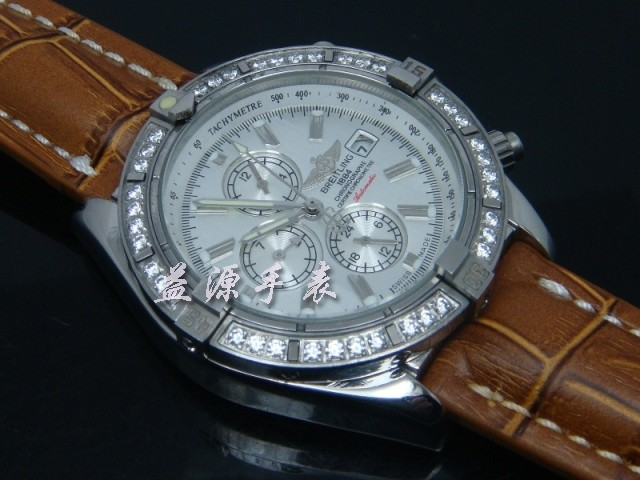 Breitling Watch  00544 Men's All-steel Wristwatches