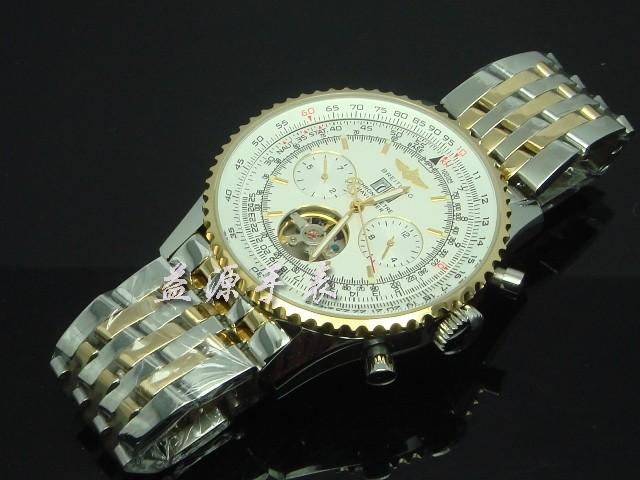 Breitling Watch  00549 Men's All-steel Wristwatches
