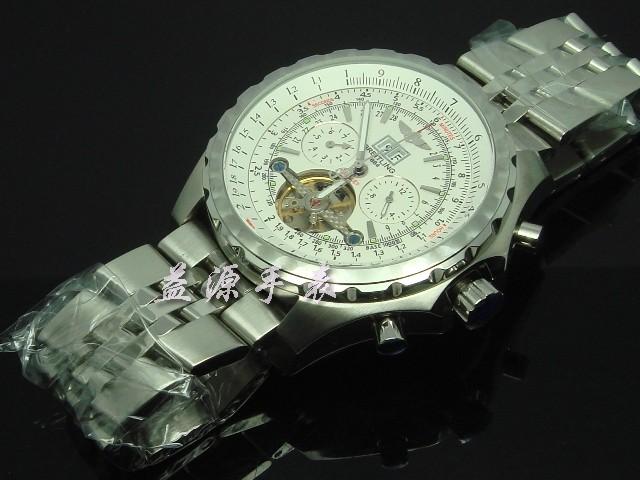 Breitling Watch  00551 Men's All-steel Wristwatches