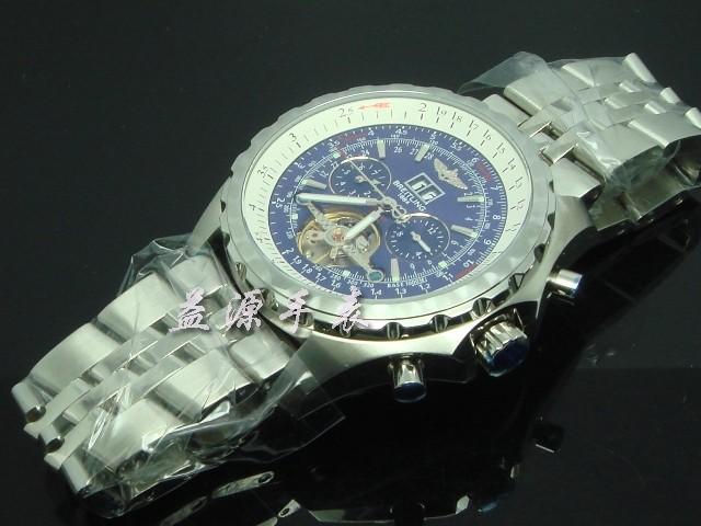 Breitling Watch  00553 Men's All-steel Wristwatches