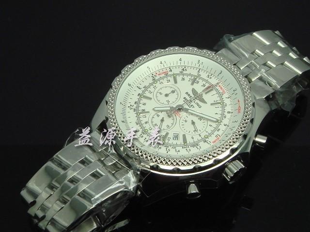 Breitling Watch  00554 Men's All-steel Wristwatches