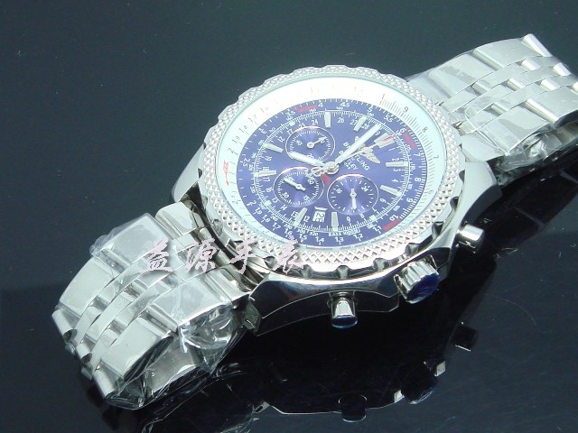 Breitling Watch  00555 Men's All-steel Wristwatches