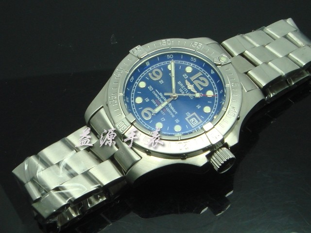 Breitling Watch  00565 Men's All-steel Wristwatches