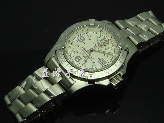 Breitling Watch  00566 Men's All-steel Wristwatches