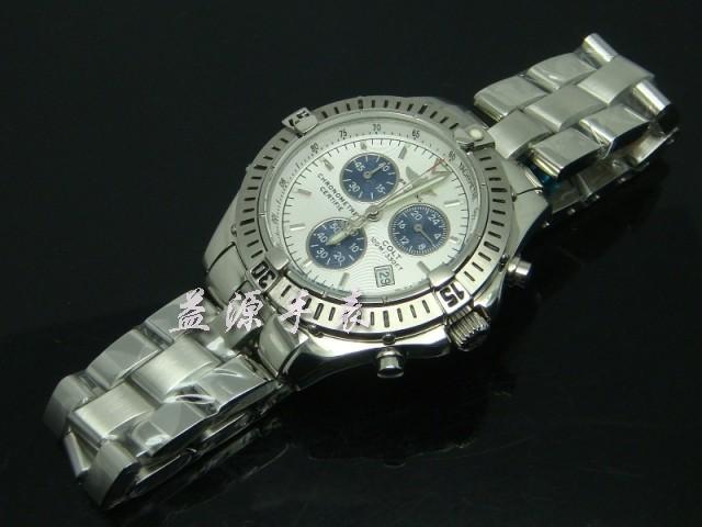 Breitling Watch  00569 Men's All-steel Wristwatches