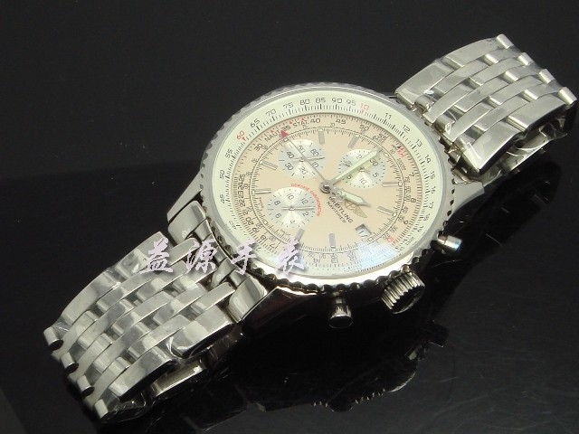 Breitling Watch  00570 Men's All-steel Wristwatches