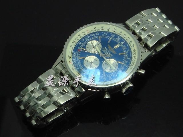 Breitling Watch  00572 Men's All-steel Wristwatches