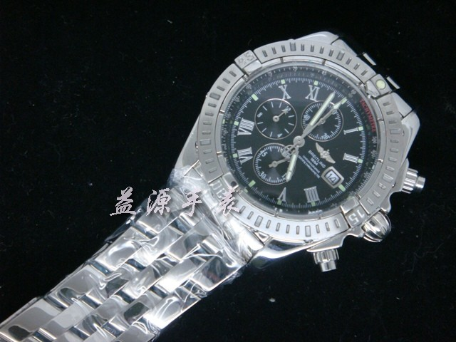 Breitling Watch  00588 Men's All-steel Wristwatches