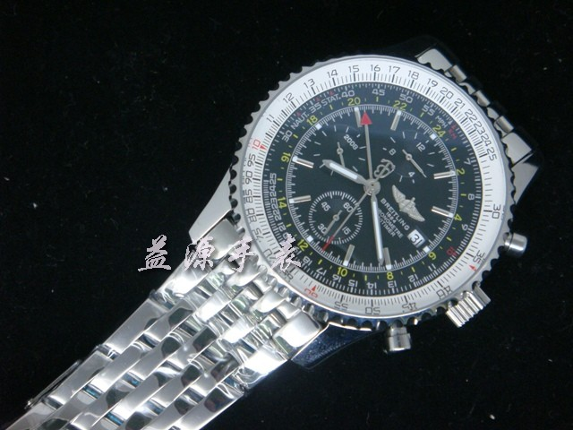 Breitling Watch  00594 Men's All-steel Wristwatches