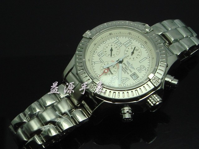 Breitling Watch  00598 Men's All-steel Wristwatches