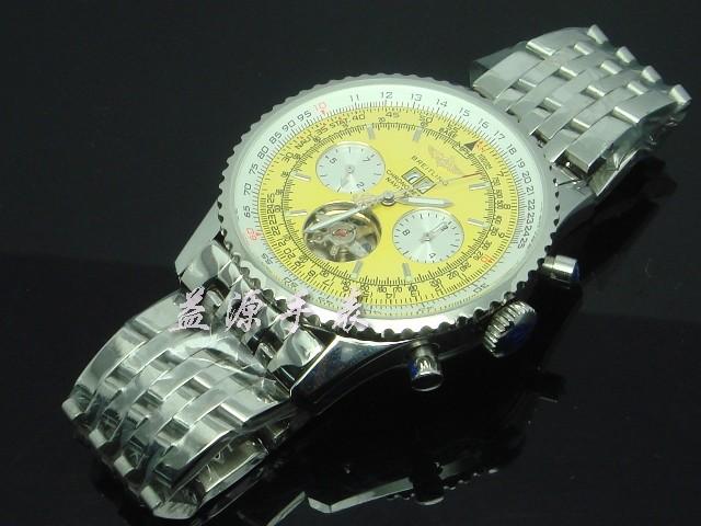 Breitling Watch  00600 Men's All-steel Wristwatches