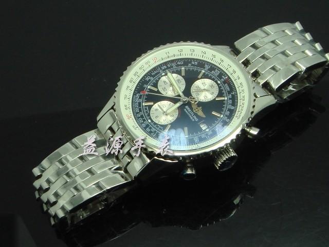 Breitling Watch  00609 Men's All-steel Wristwatches