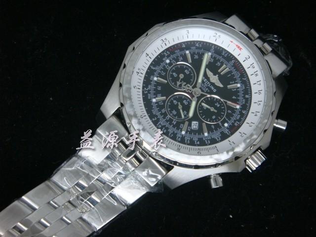 Breitling Watch  00611 Men's All-steel Wristwatches