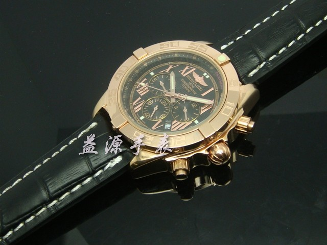 Breitling Watch  00626 Men's All-steel Wristwatches