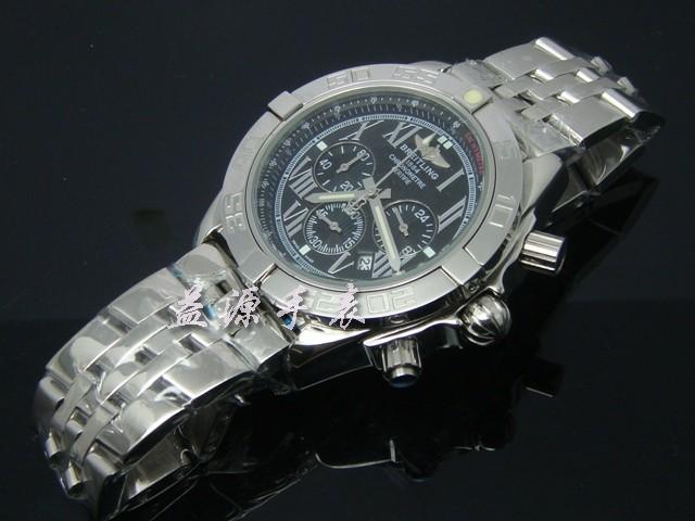 Breitling Watch  00635 Men's All-steel Wristwatches