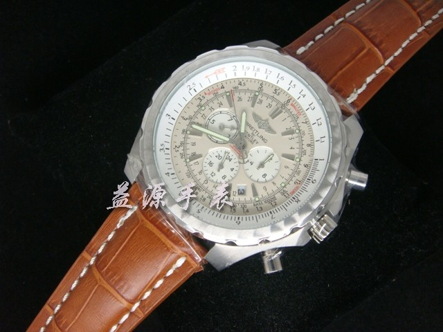 Breitling Watch 00655 Men's All-steel Wristwatches