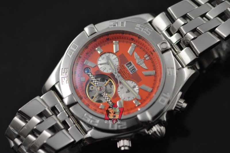 Breitling Watch 00725 Men's All-steel Wristwatches