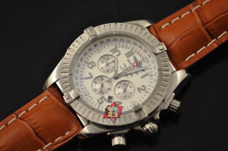 Breitling Watch 00727 Men's All-steel Wristwatches
