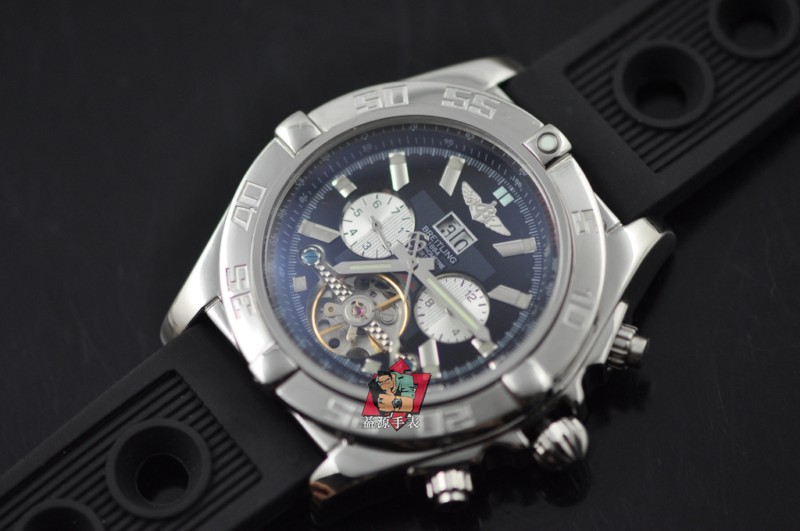 Breitling Watch 00729 Men's All-steel Wristwatches