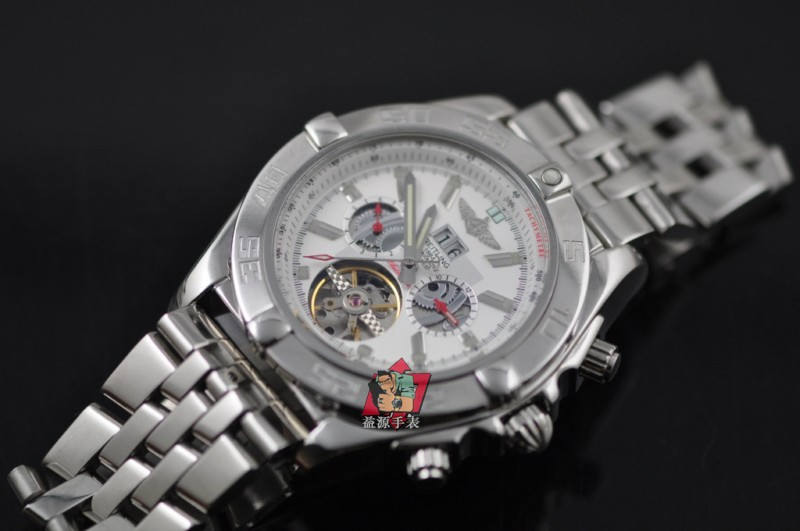 Breitling Watch 00756 Men's All-steel Wristwatches