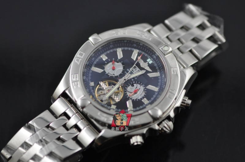 Breitling Watch 00764 Men's All-steel Wristwatches