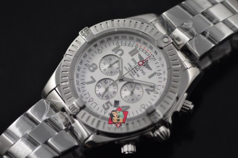 Breitling Watch 00767 Men's All-steel Wristwatches