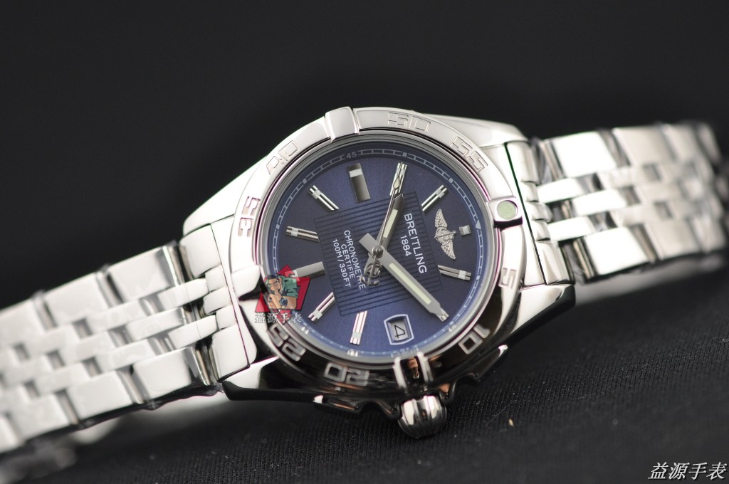 Breitling Watch 00819 Men's All-steel Wristwatches