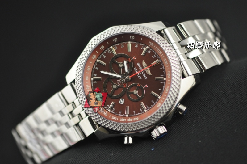 Breitling Watch 00893 Men's All-steel Wristwatches