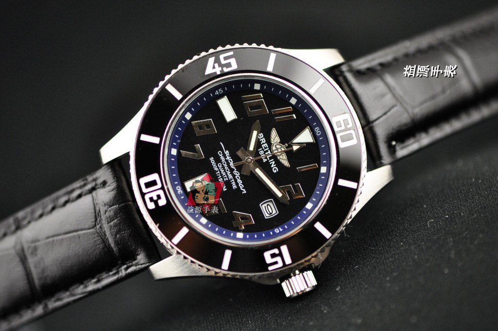 Breitling Watch 00911 Men's All-steel Wristwatches