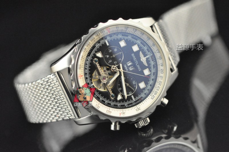 Breitling Watch 00945 Men's All-steel Wristwatches