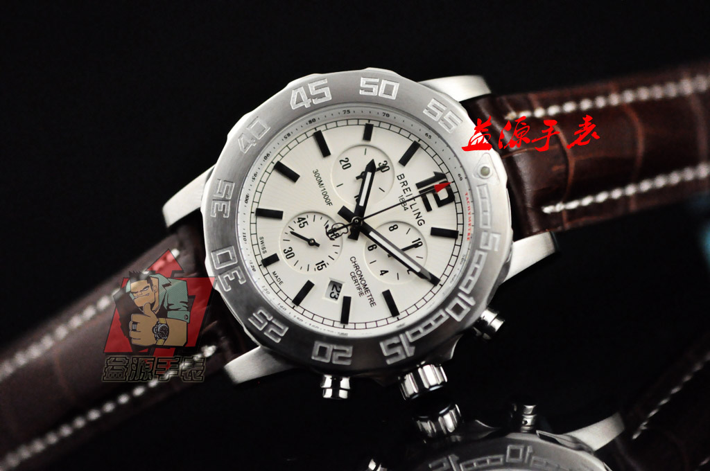 Breitling Watch 00975 Men's All-steel Wristwatches