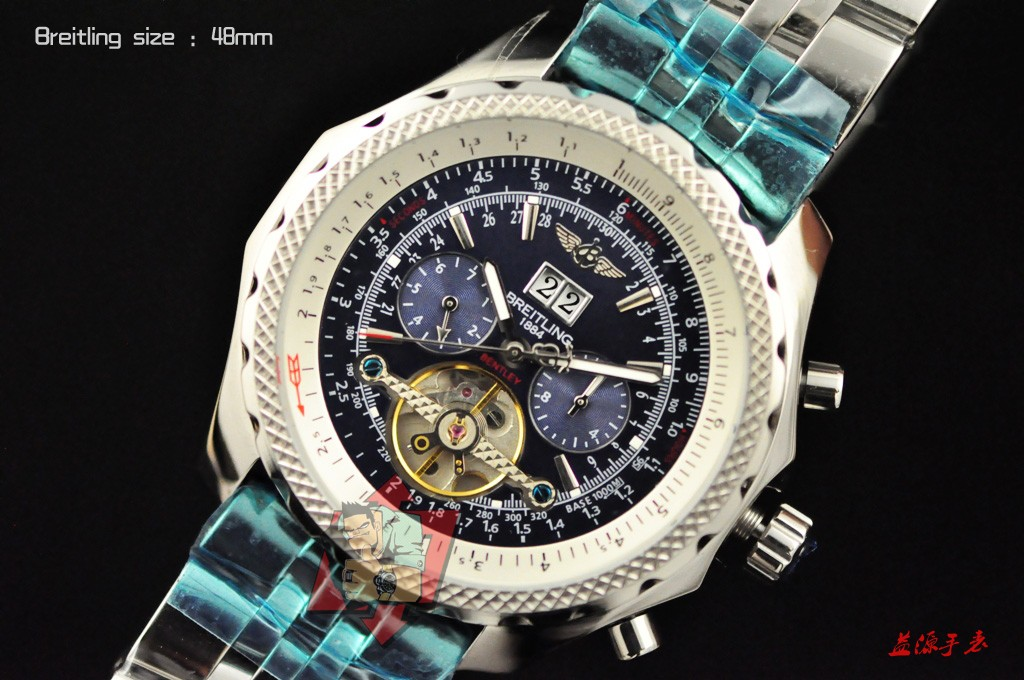 Breitling Watch 00988 Men's All-steel Wristwatches
