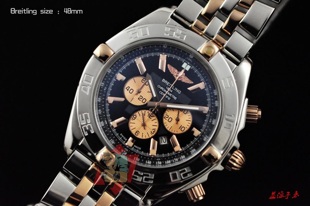 Breitling Watch 00991 Men's All-steel Wristwatches