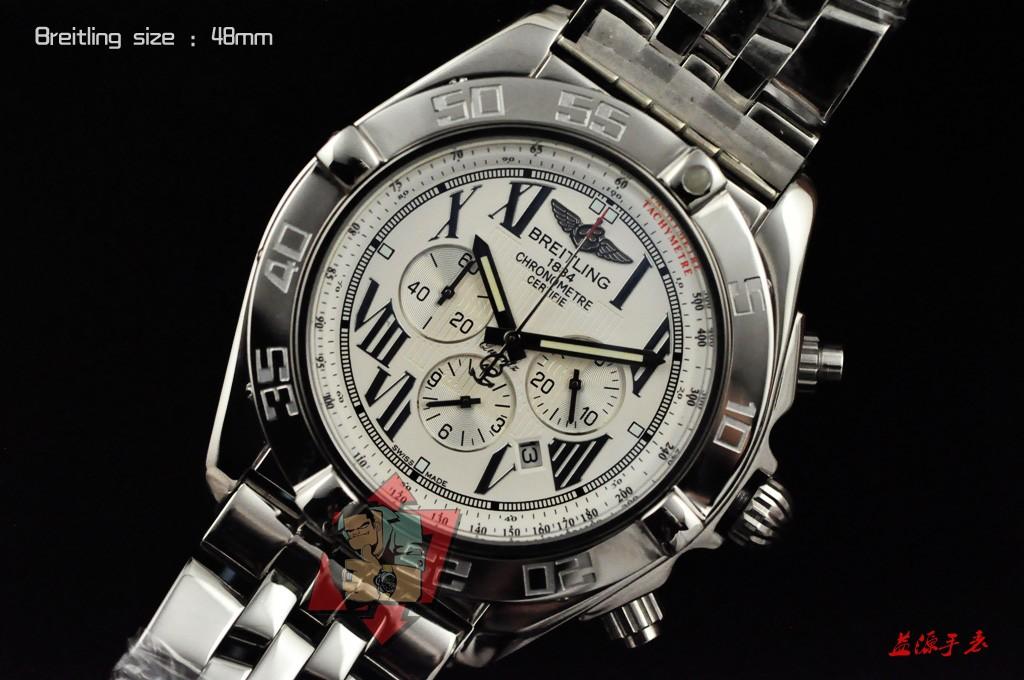 Breitling Watch 01005 Men's All-steel Wristwatches