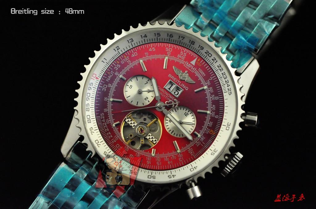 Breitling Watch 01013 Men's All-steel Wristwatches