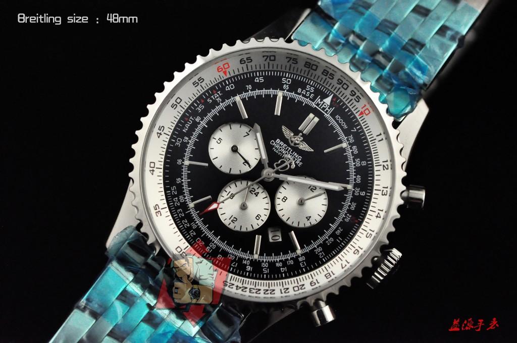 Breitling Watch 01019 Men's All-steel Wristwatches