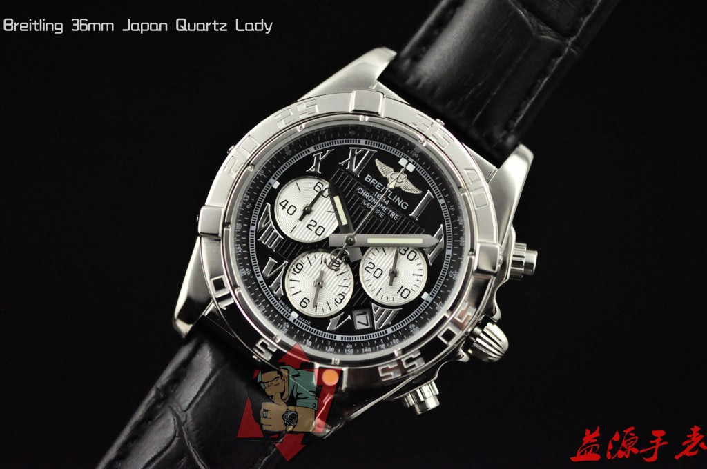 Breitling Watch 01027 Men's All-steel Wristwatches
