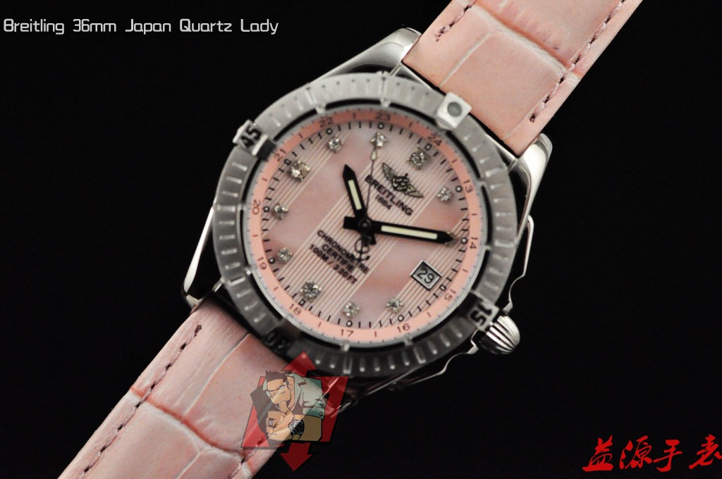 Breitling Watch 01032 Men's All-steel Wristwatches